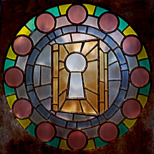 Making stained-glass windows ~ Well-Equipped Thief